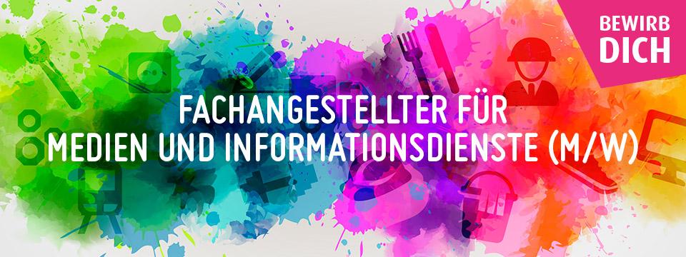 Fachangestelle(-r) für Medien- und Informationstechnik