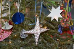 Bild: Corinne Richert Der geschmückte Weihnachts-Wunsch-Baum