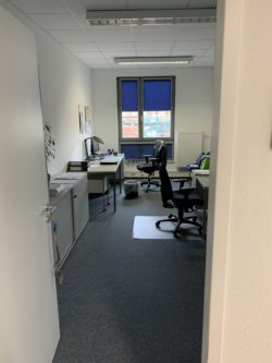 Blick in das Azubi-Büro